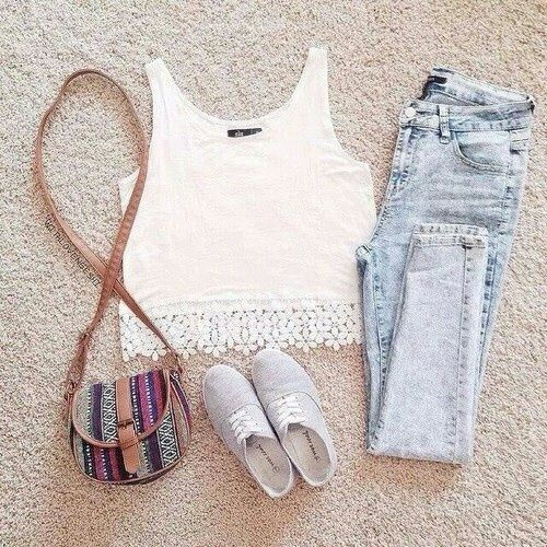 fashion, outfit, and style Bild