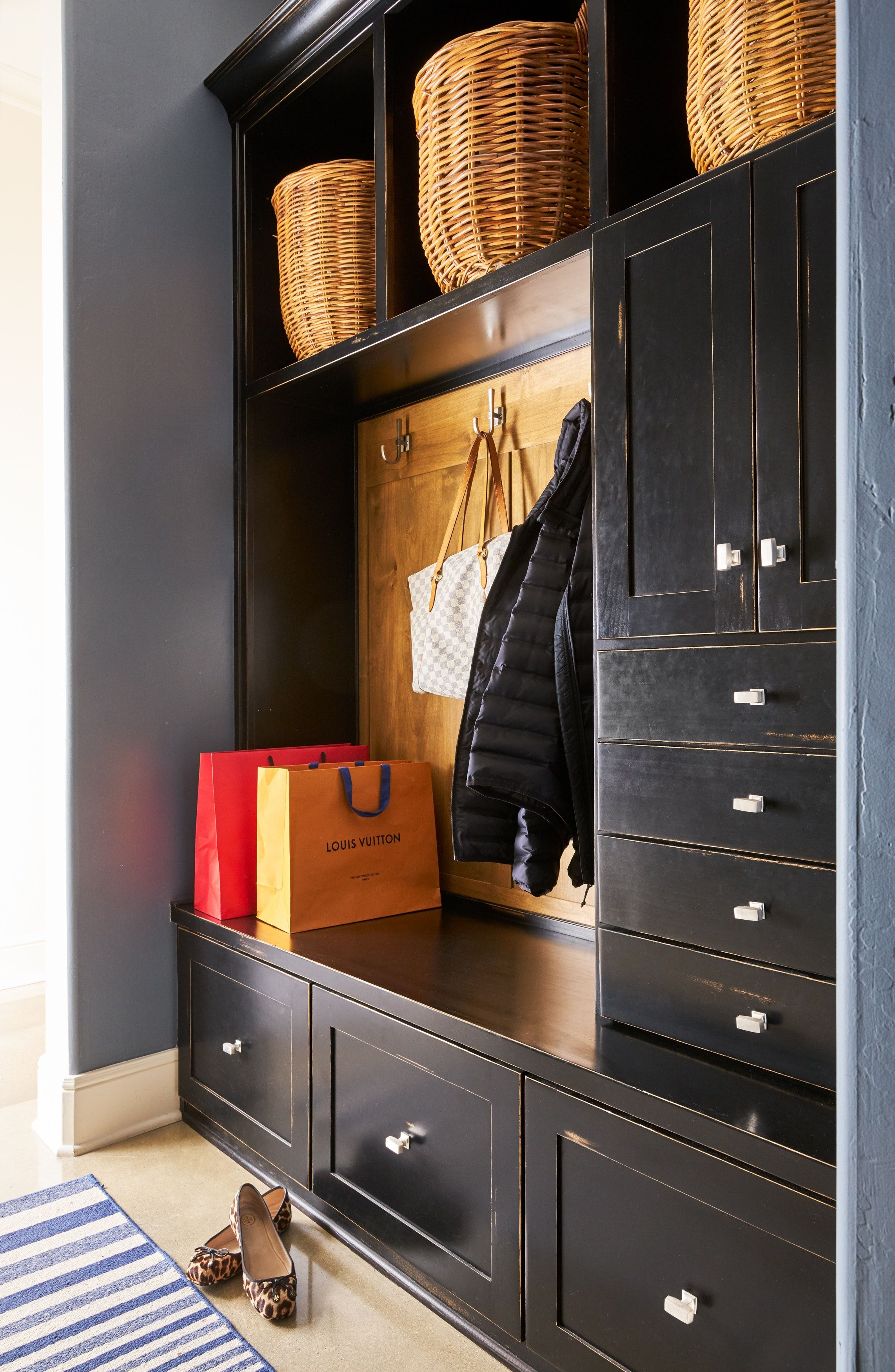 Builtin black is a dramatic and sophisticated