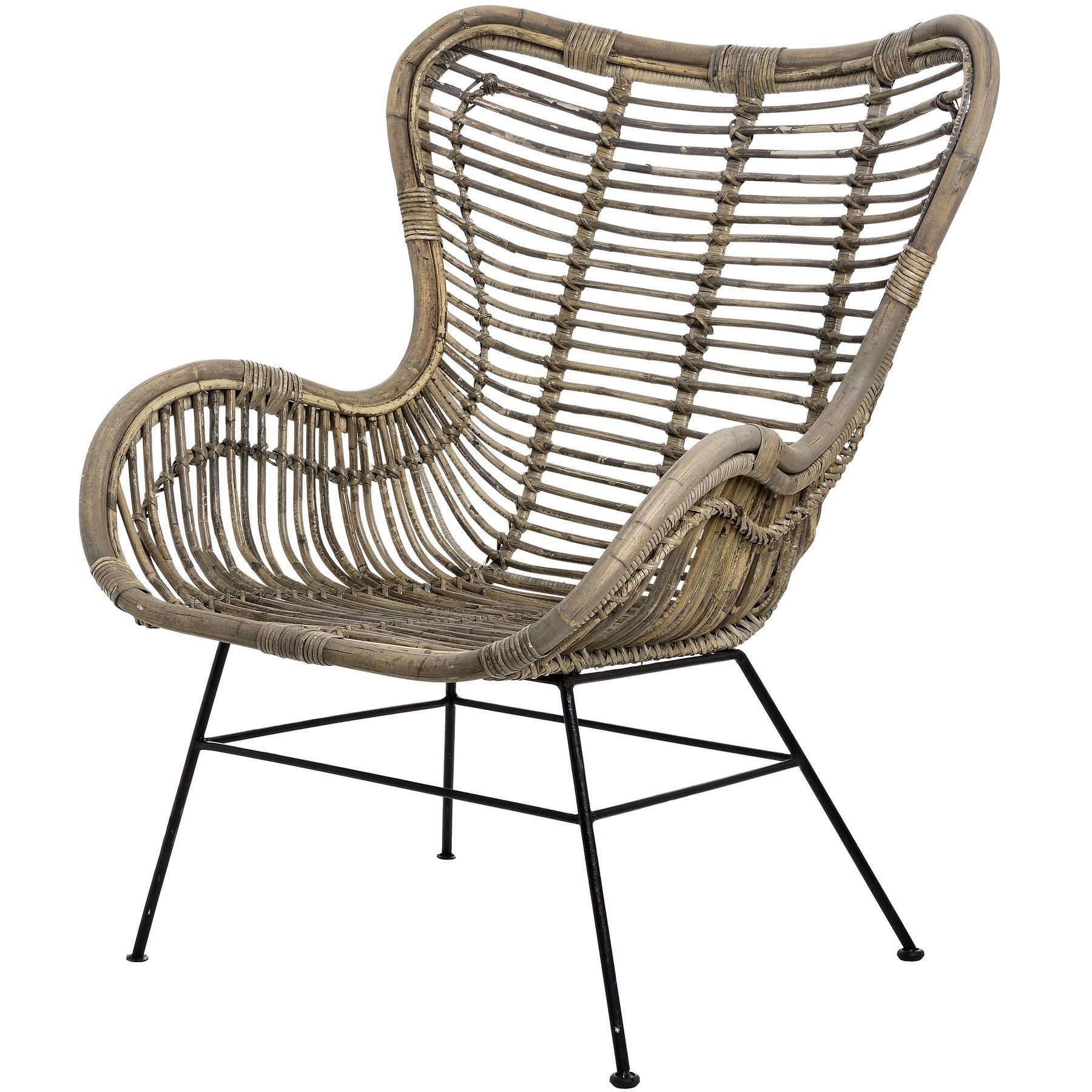 Cool Rattan Bamboo Armchair Bali Wooden Arm Chair With Metal Ibusinesslaw Wood Chair Design Ideas Ibusinesslaworg