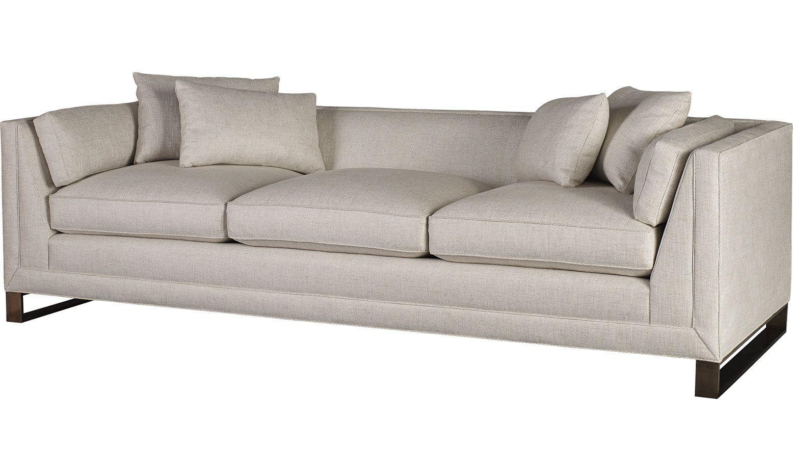 Admirable Surround Sofa By Barbara Barry 6734S Baker Furniture Machost Co Dining Chair Design Ideas Machostcouk