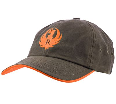 498eac3bd Ruger Logo Hats | Brown & Orange Wax Cap-ShopRuger | Stuff to Buy ...