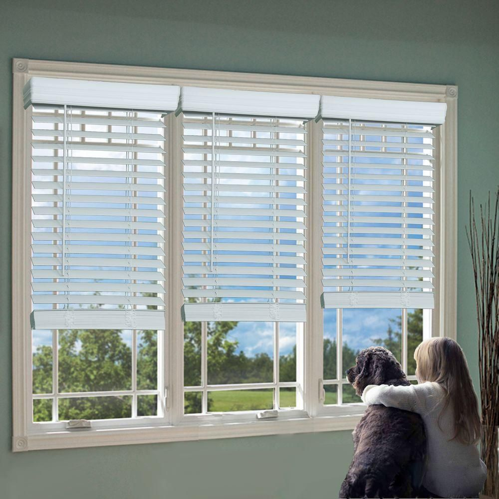 Window blinds ideas  perfect lift window treatment white  in cordless faux wood blind