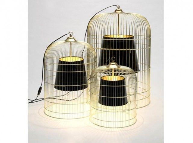 Lampe de table cage à oiseaux: set of birdcage lights. I\'m not ...