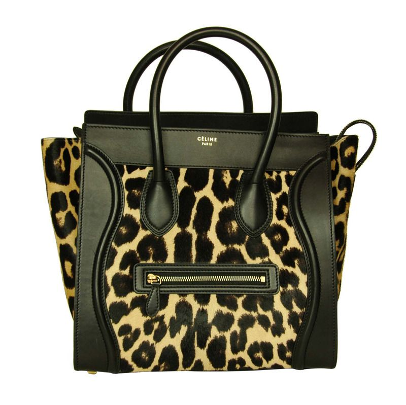 171ea5a72f63 View this item and discover similar handbags and purses for sale at 1stdibs  - CELINE Leopard
