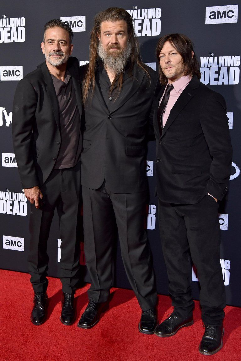 See All The Stars At The Walking Dead Season 10 Premiere Ryan Hurst Walking Dead Season Daryl Dixon Walking Dead