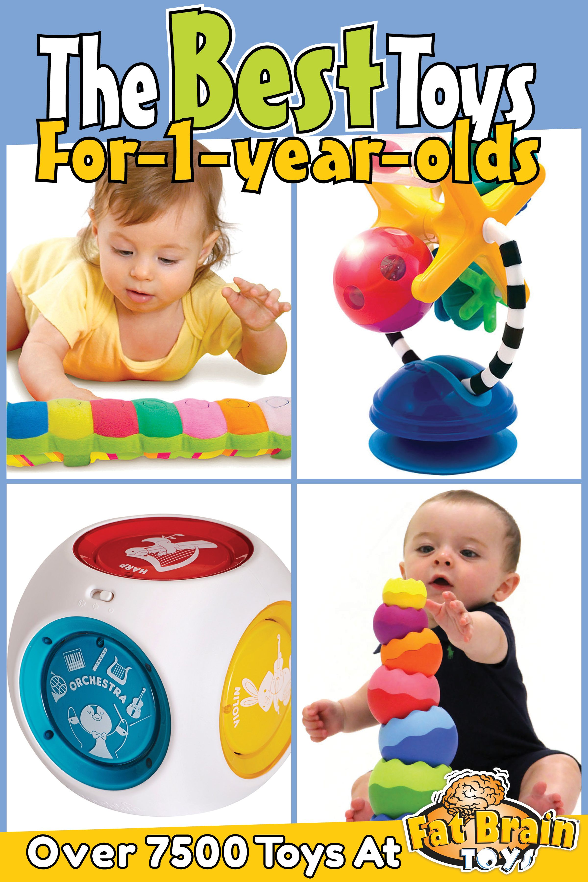 The Best Toys On The Planet For 1 Year Olds Click To