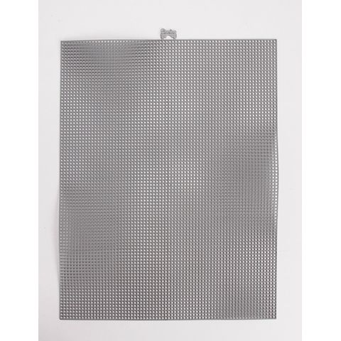 Colored Plastic Canvas Sheets 7 Mesh Metallic Gunmetal 10 5 X 13 5 Inches Plastic Canvas Plastic Mesh Diy Fashion Projects