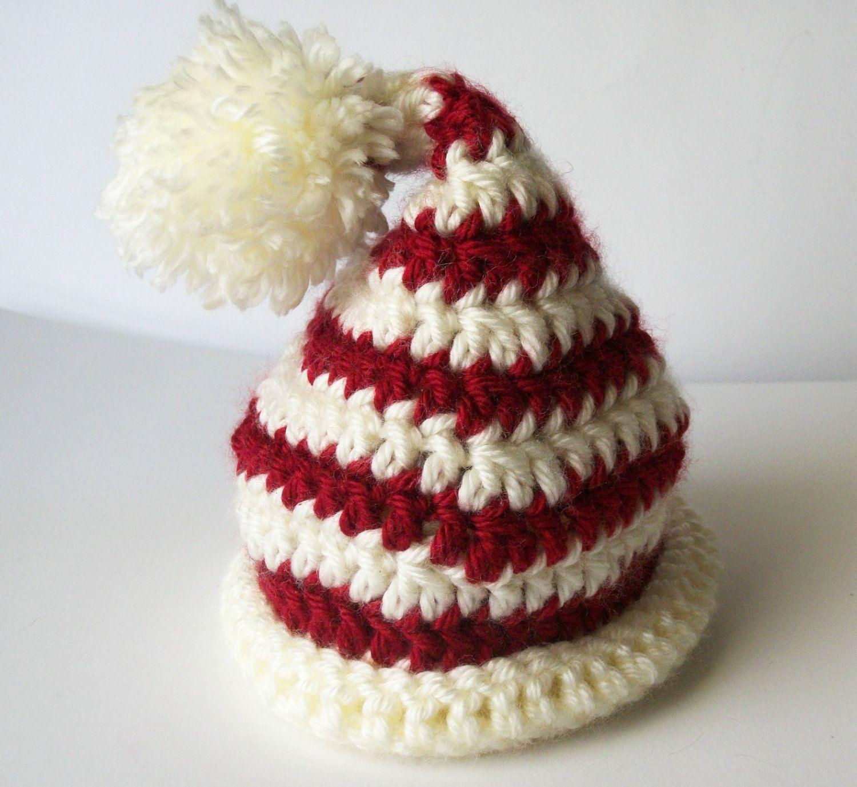17cbac212e7 crochet preemie christmas hat patterns
