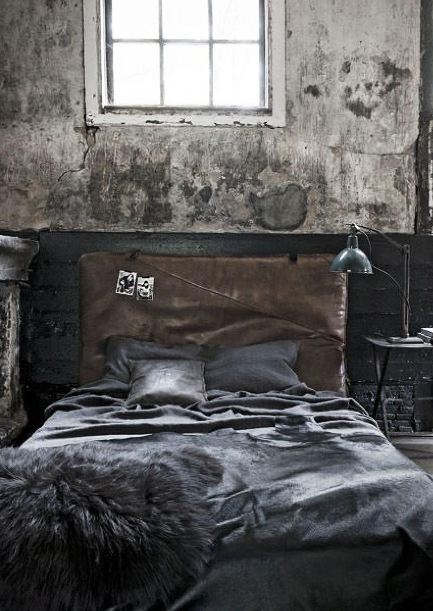21 Industrial Bedroom Designs Decoholic 21