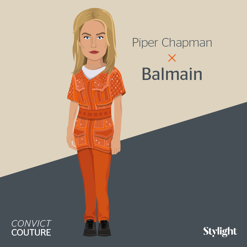 Stylight Launches 'Orange is the New Black' Campaign #infographic