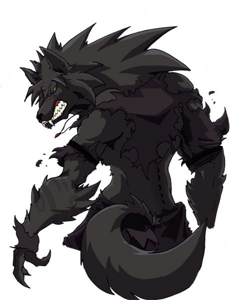 dark anime werewolves