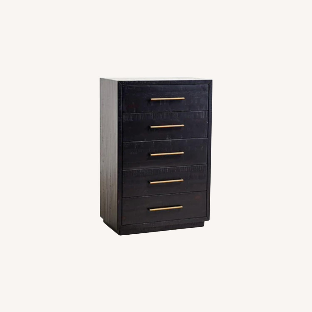 West Elm Vanga 5 Drawer Dresser Aptdeco Dresser Drawers 5 Drawer Dresser Drawers [ 1000 x 1000 Pixel ]