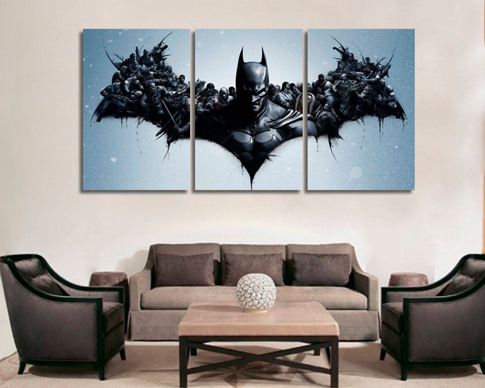 Superman poster wall art home decoration photo print 24x24 inches