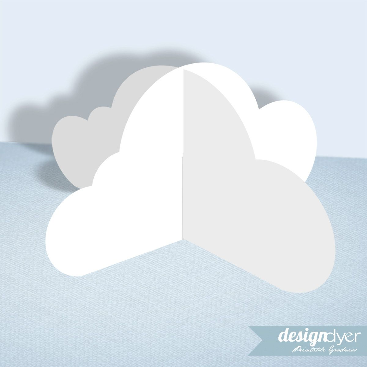popular items for 3d clouds on etsy girl scouts pinterest
