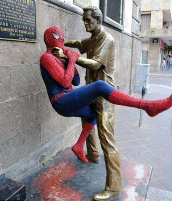 Fun With Statues 14