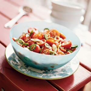 Summer Side Dishes | Spiced Marinated Tomatoes | CookingLight.com