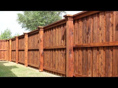 Wrapping Steel Posts With Wood When Building Wood Fence Youtube