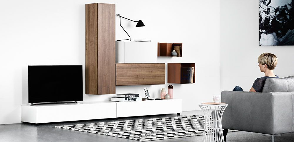 Design Your Own Bookcase Or Wall System With Boconcept Storage Concept Danish Furniture Design Boconcept Furniture Catalog