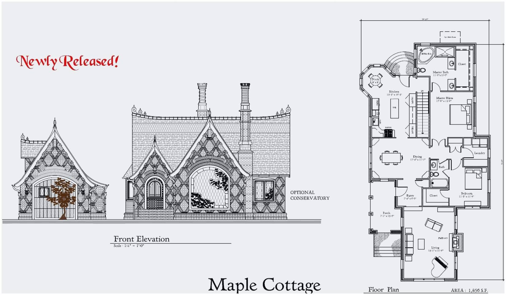 House Plan Soiaya Floor Plans Lovely Picturesque Storybook Www
