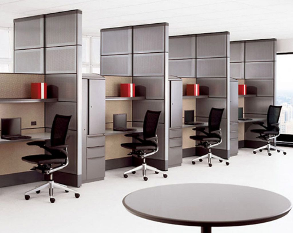 Office Design Ideas For Work office workspaceworkspace cool home office and office break room work space minimalist white office design idea with blue windows frame a Modern Law Office Design Work Stations Design With Unique Partitions