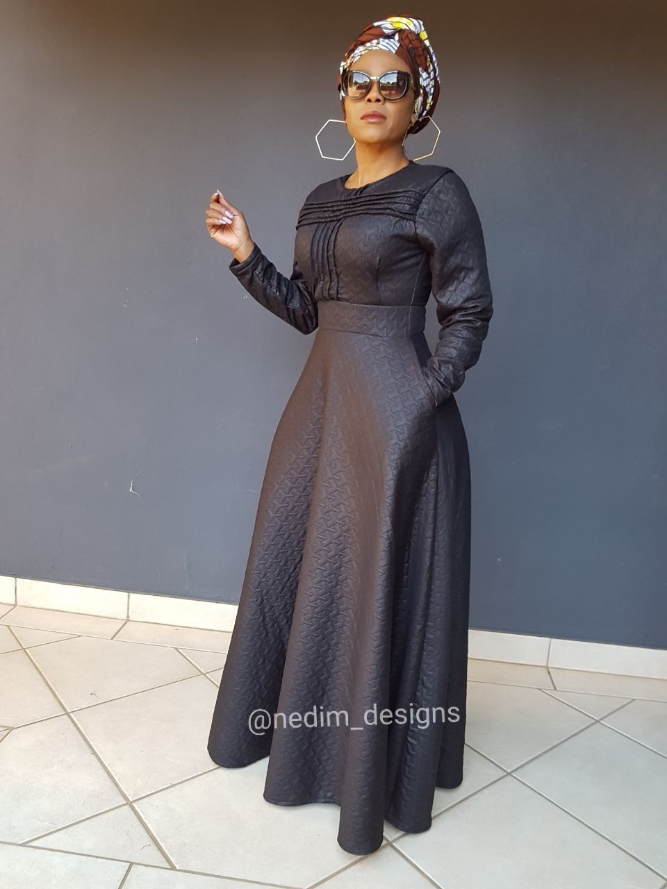 Black maxi dresses nedimdesigns my look in