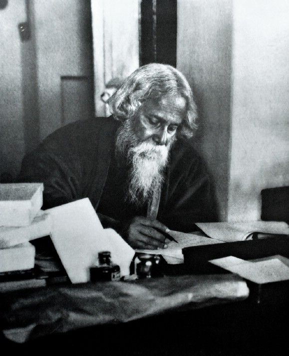 Image result for tagore writing