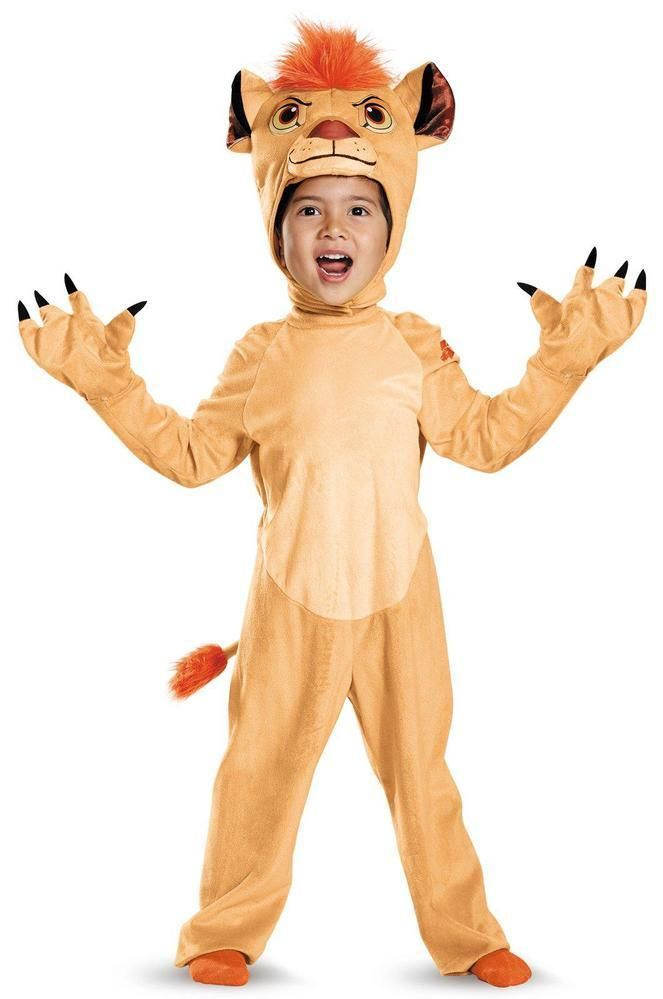 kids costumes disney jr lion guard kion deluxe toddler costume buy - Disney Jr Halloween Costumes