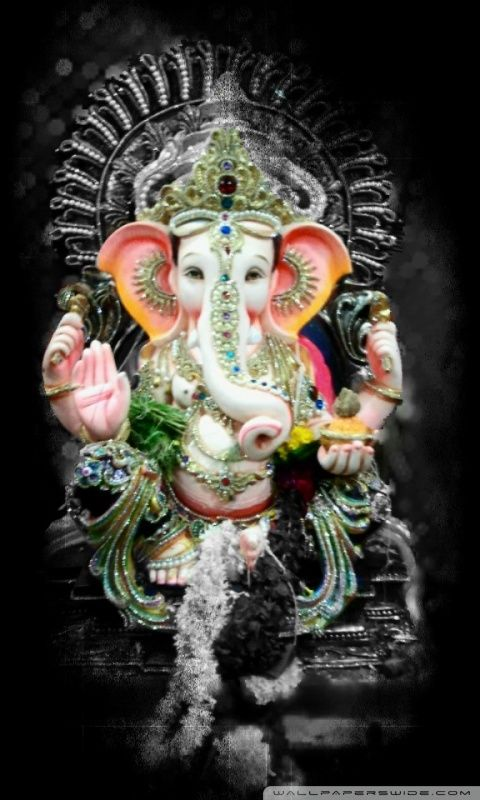 Lord Ganesh Hd Desktop Wallpaper Mobile Wallpaper
