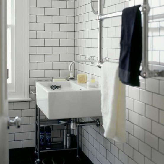 Grey Grout White Subway Tile Bathroom White Subway Tiles Small