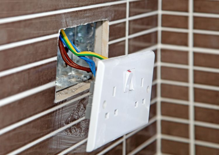 How To Install An Old Work Electrical Box In An Existing Wall With Images Porch Lighting Electricity Diy Electrical