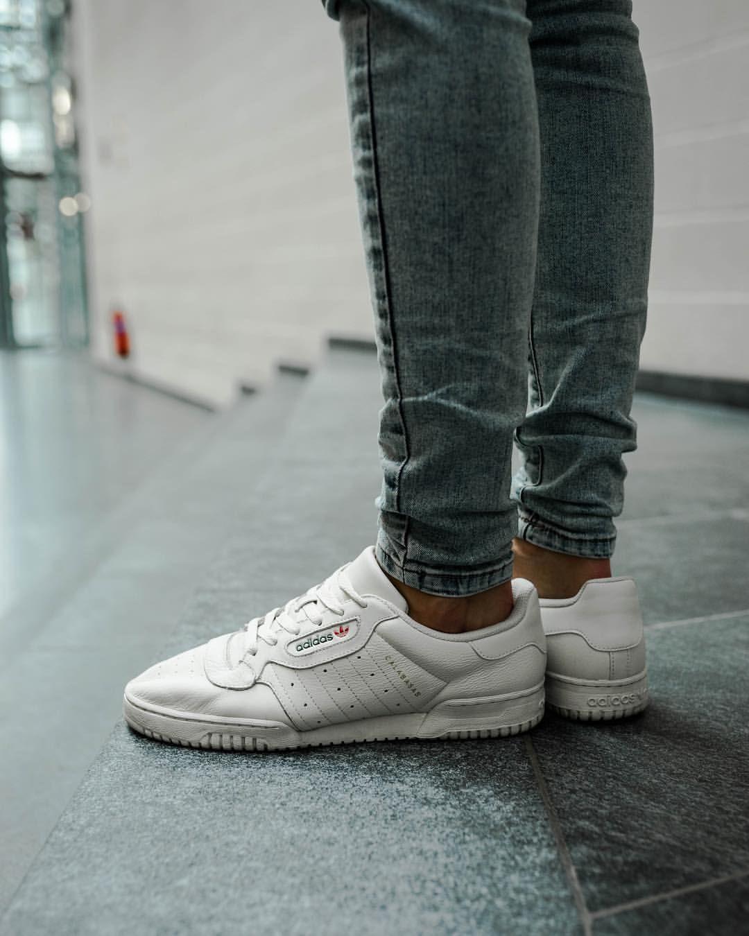 Kanye X Adidas Originals Powerphase Calabasas White Sneaker Sneakers Shoes