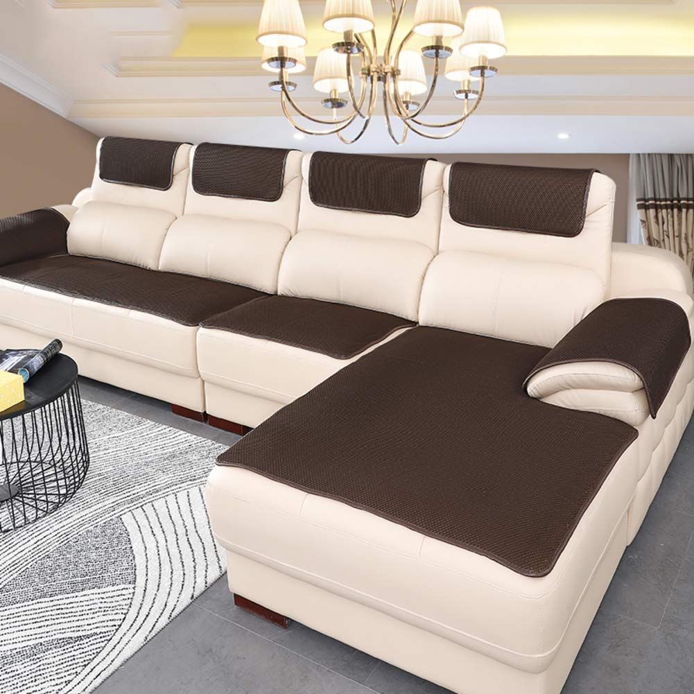 Sofa Cover For Leather Couch Super Non Slip Sofa Cushioning Couch Slipcover For Pets Sofa Furniture Protec In 2020 Leather Sofa Couch Slip Covers Couch Leather Couch