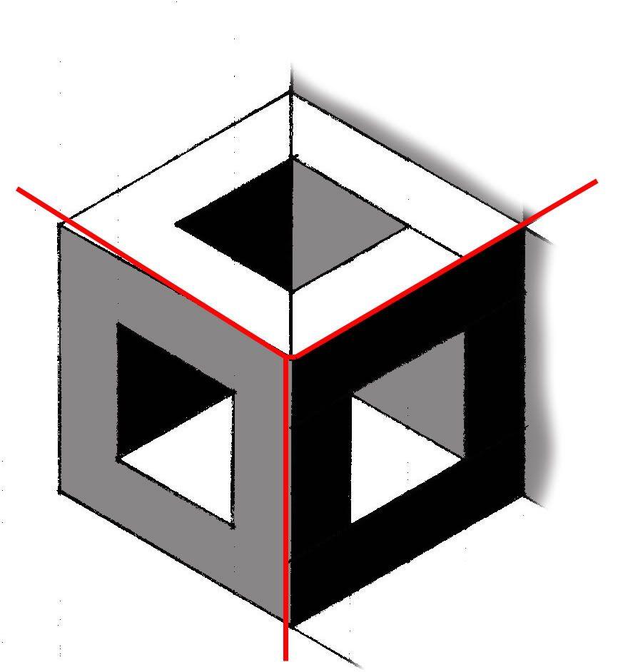 Hollow+Cube+Quilt+Block+Pattern