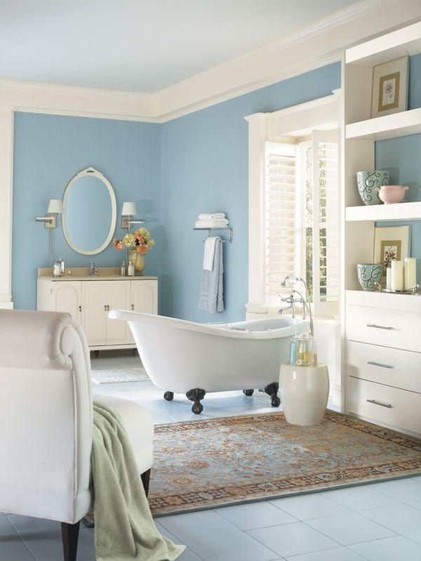 Beige And Blue Best Bathroom Colors Bathroom Colors Bathroom Color