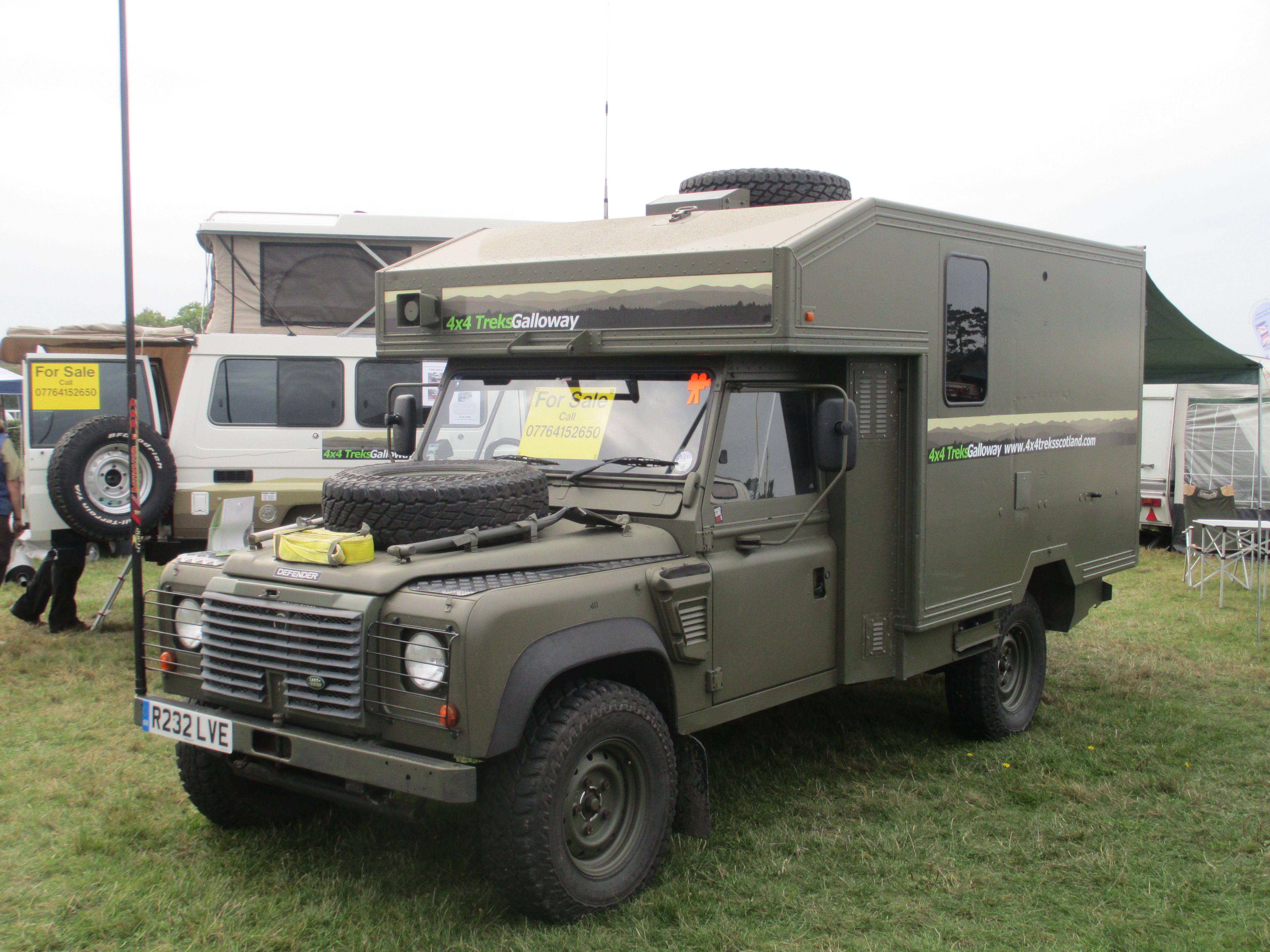 Landrover 130 Ambulance Office 4x4 Adventure Camper Car Land