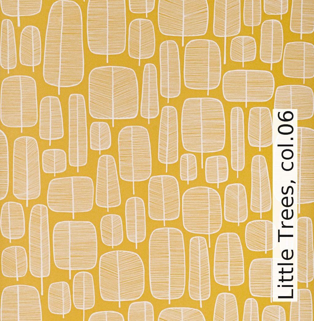 Tapete: Little Trees, col.06 - TapetenAgentur