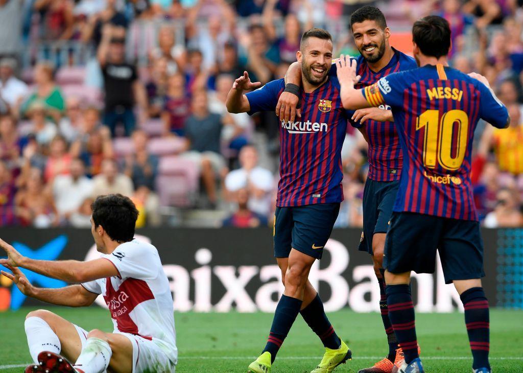 Barcelona S Argentinian Forward Lionel Messi Barcelona S