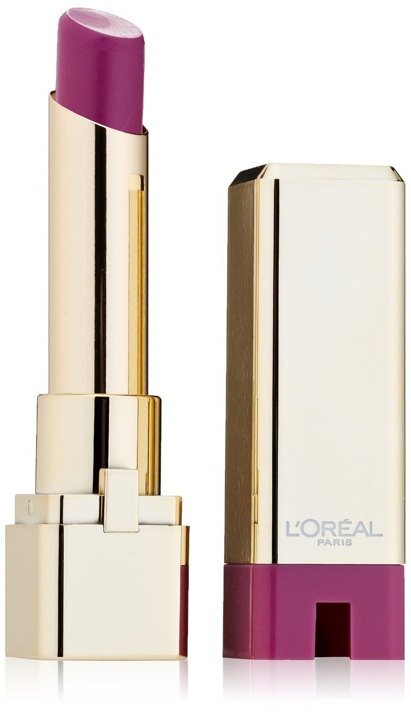 L'Oreal Colour Riche Caresse Lipstick, 175 Violet Chiffon- 0.1 Oz. L'Oreal Colour Riche Caresse Lipstick, 175 Violet Chiffon- 0.1 Oz.