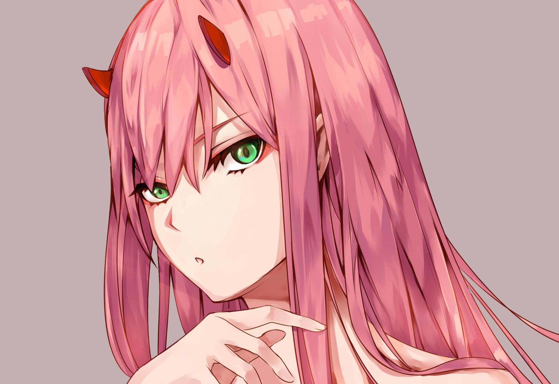 Anime Darling In The Franxx Zero Two Darling In The Franxx Long