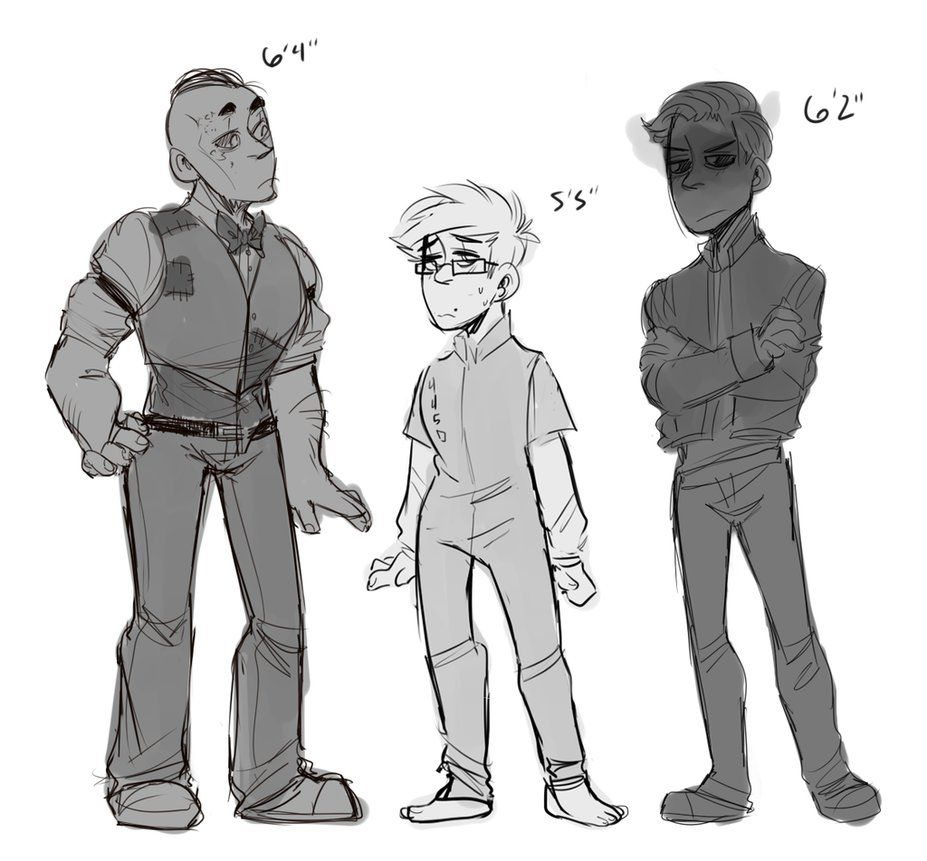 Outlast Height Chart By Donitkitt On Deviantart Waylon Park