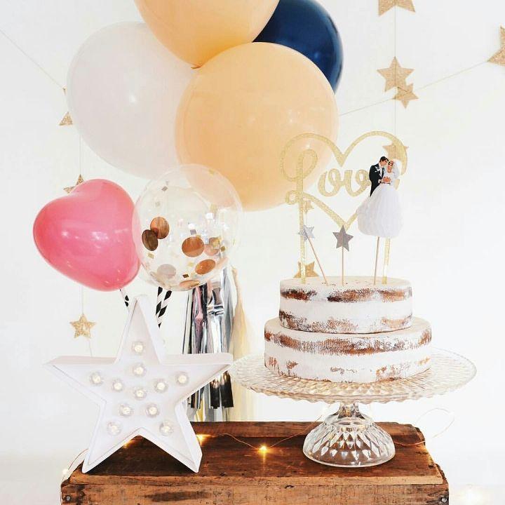 バルーンの もっとかわいい 飾り方 プロ級3法則 結婚式 バルーン ウエディング テーブル バースデー 飾り付け