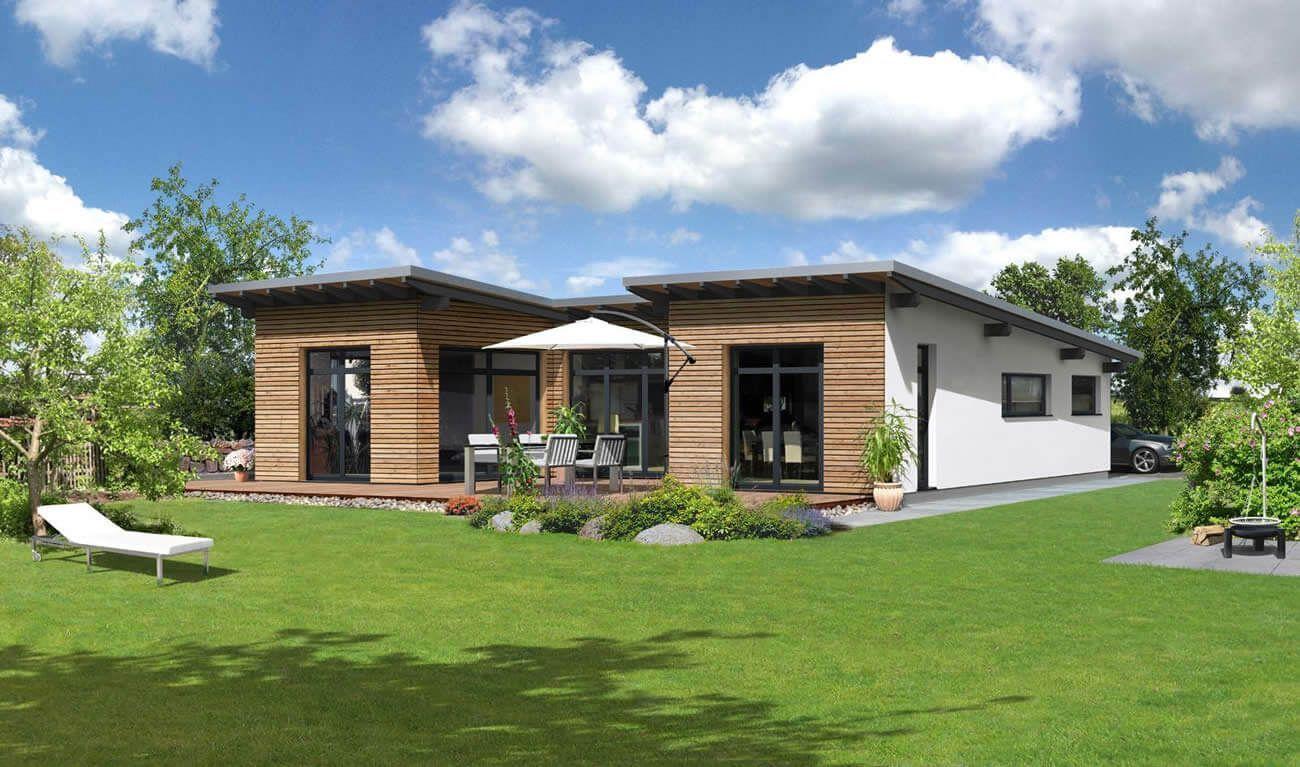 fertighaus bungalow 60 qm wohn design wohnzimmerideenwandgestaltung innererfrieden