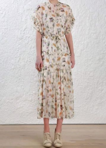 6a45a2ae0e Brand New Zimmermann Rife Dandelion Long Dress sz 2 RRP $995 Currently in  stores