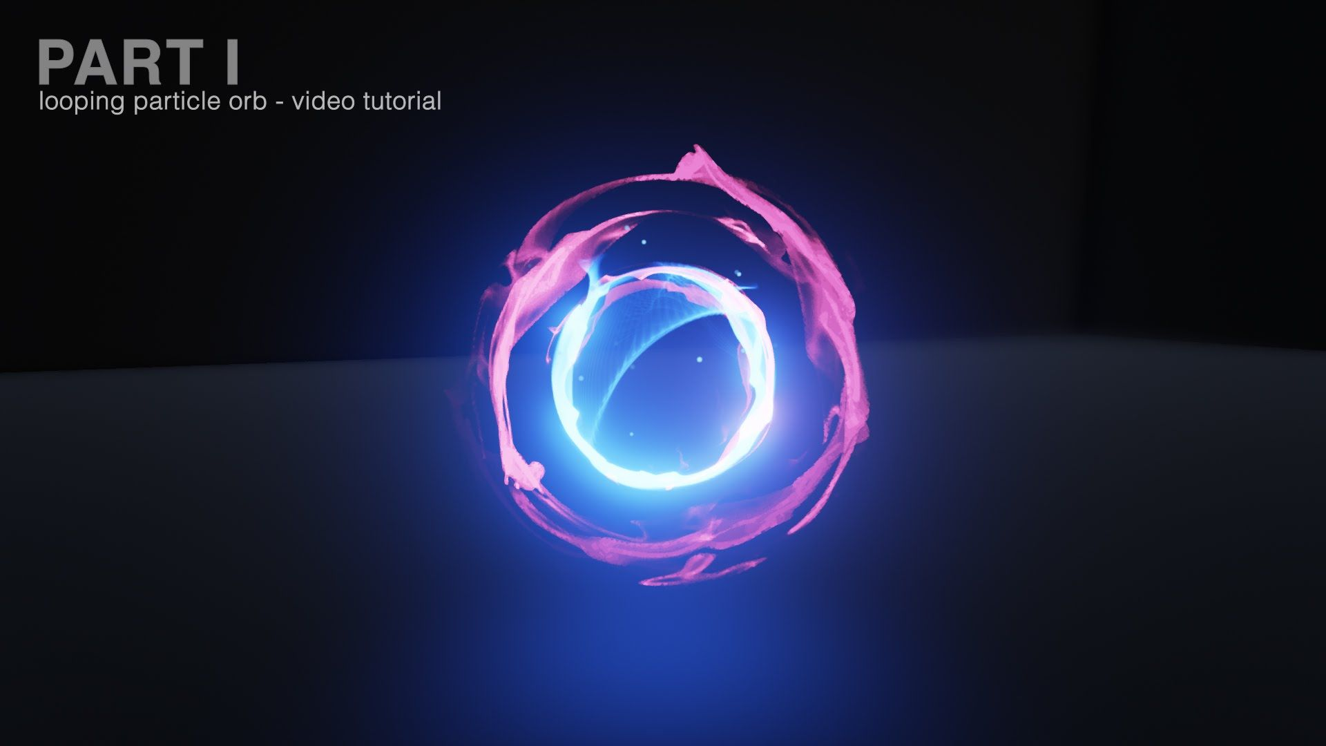 Looping Particle Orb - Video Tutorial Part 1 | Tutorial in