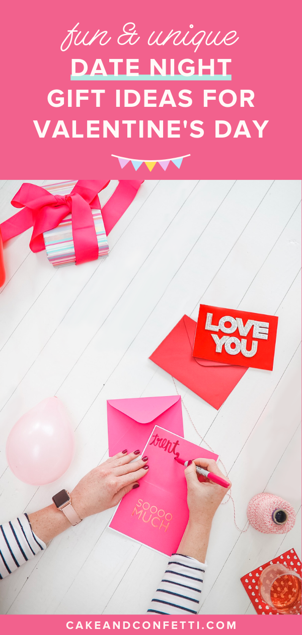 10 Fun Date Night Gift Ideas For Valentines Day | DIY Valentines Gift Ideas - Lo...