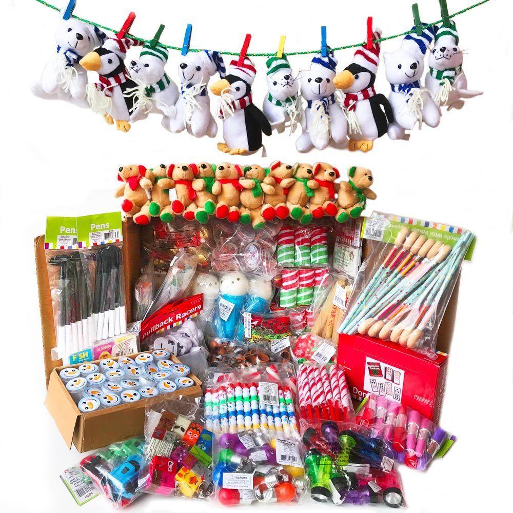 Santa Shop Holiday Merchandise Bulk 672 Gifts & Toys