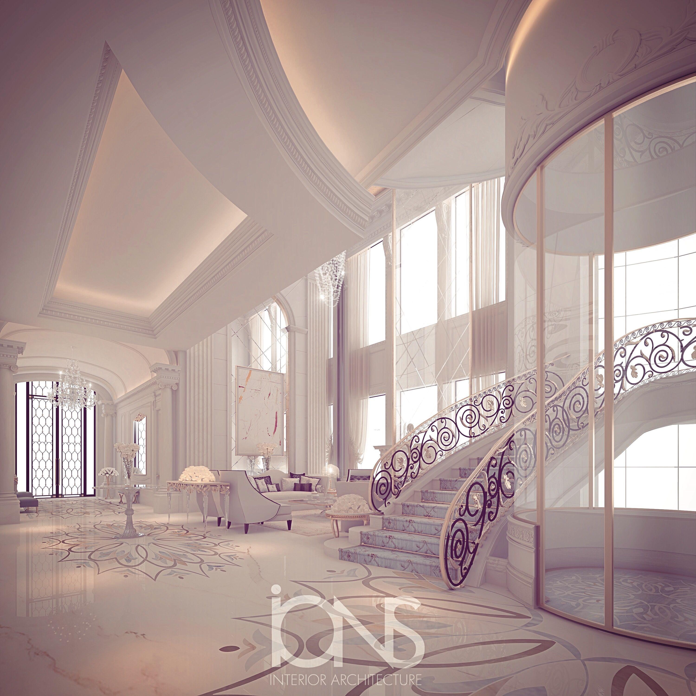 Foyer Luxury Villas : Luxury villa interior by ions design dream home