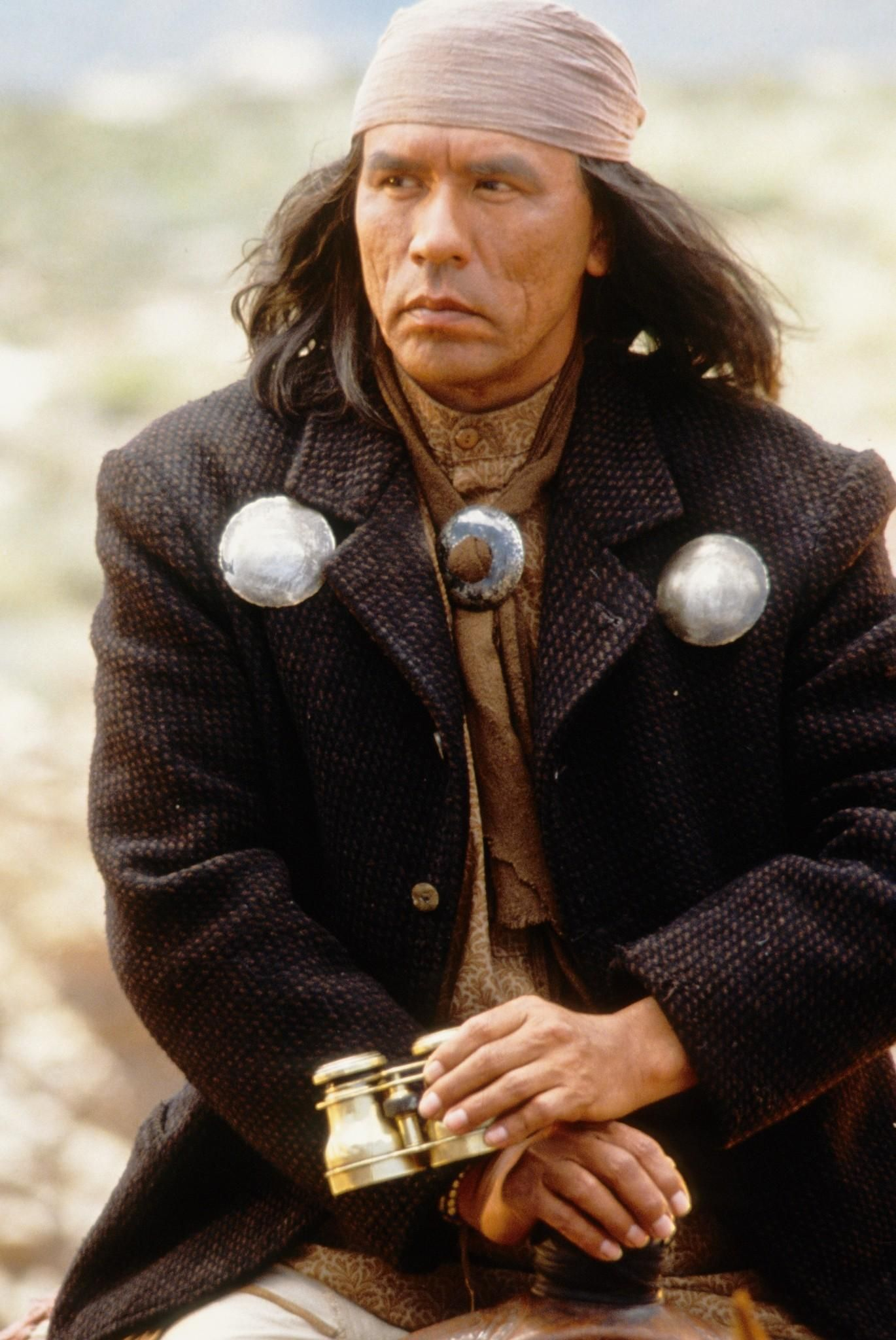 Image result for wes studi as geronimo
