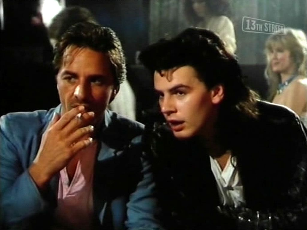 John Taylor, Don Jonhnson (Sonny Crockett) in Miami Vice