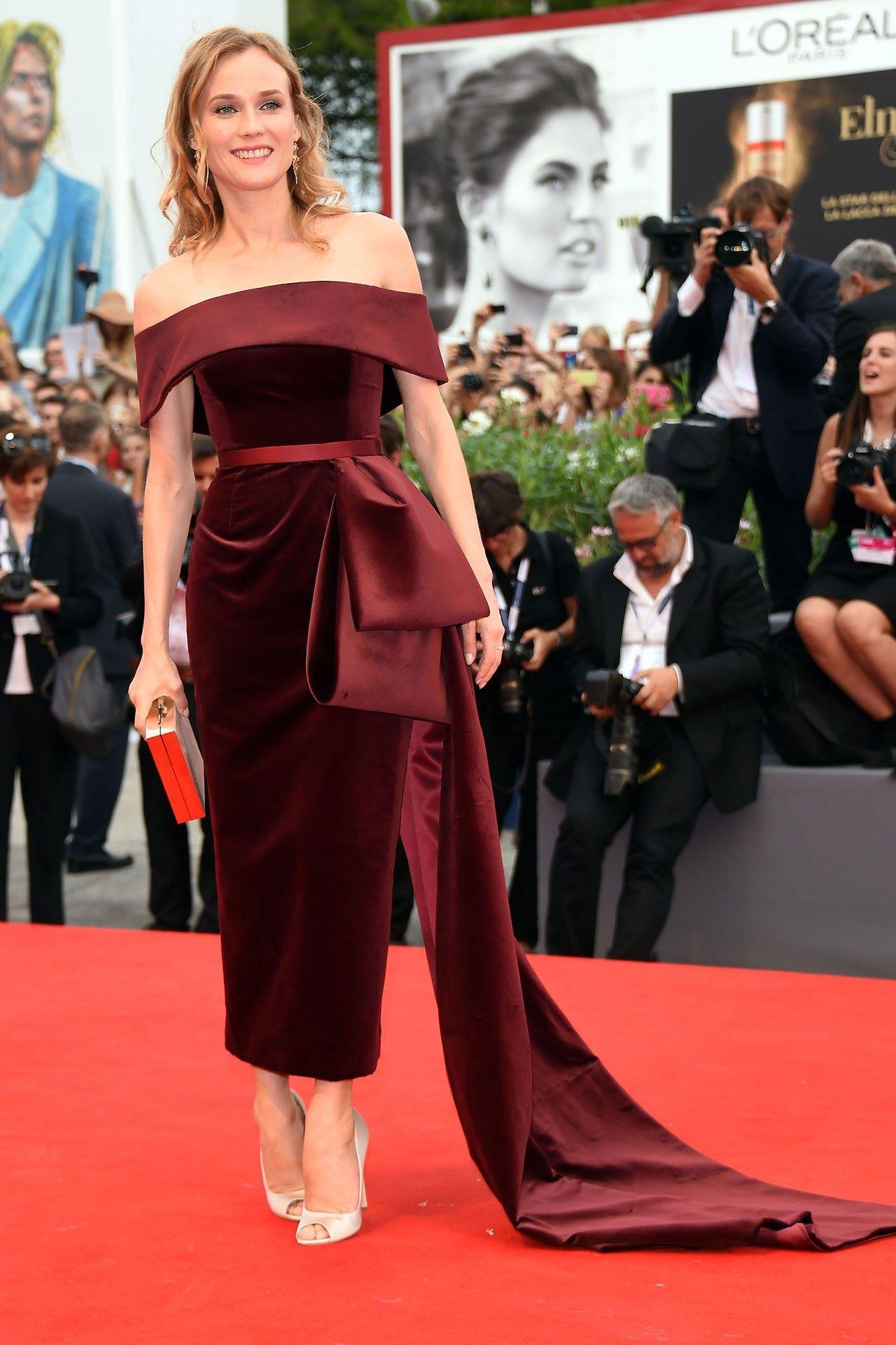 7da24c4eeb19 Venice Film Festival - Diane Kruger in Hugo Boss by Jason Wu